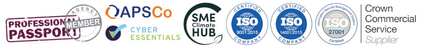 CCS Supplier - ISO 27001 - ISO 27001 - ISO 9001 - ISO 14001 - Cyber Essentials